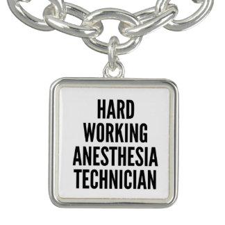 Harter Arbeitsanästhesie-Techniker Charm Armband