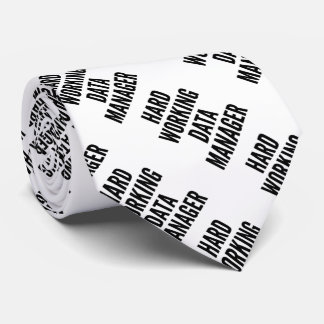 Harter Arbeitsdaten-Manager Bedruckte Krawatten