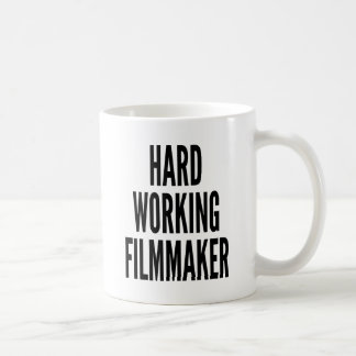 Harter Arbeitsfilmemacher Kaffeetasse
