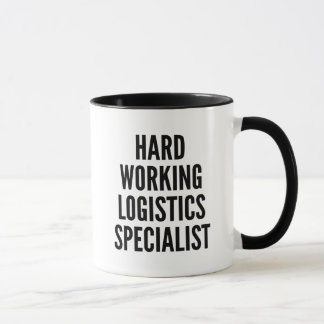 Harter Arbeitslogistik-Spezialist Tasse
