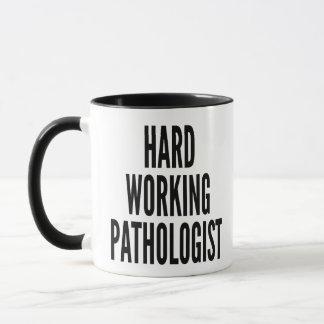 Harter Arbeitspathologe Tasse