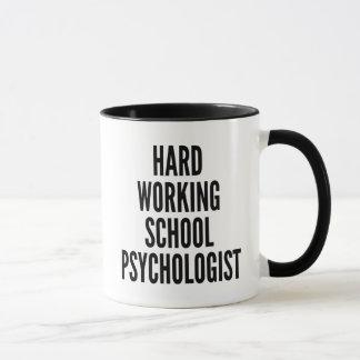 Harter Arbeitsschulpsychologe Tasse