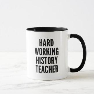 Harter Funktions-Geschichtslehrer Tasse