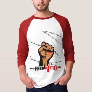 Harter Schlagmannbarb-Draht3/4 Raglan Jersey T-Shirt