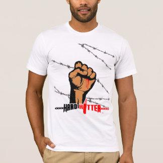 Harter Schlagmannbarb-Draht-amerikanisches T-Shirt