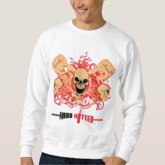 Hartes Schlagmann-Dämon-Schädel-Sweatshirt Sweatshirt
