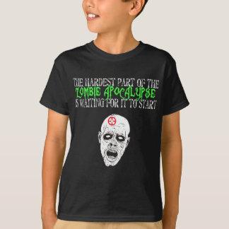 Härtestes Teil der Zombie-Apokalypse T-Shirt