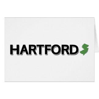 Hartford, New-Jersey Karte