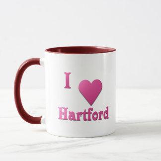 Hartford -- Pink Tasse