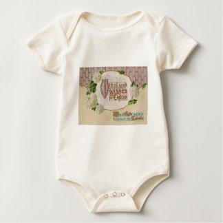 Hartriegel-Blumen-Osterei Baby Strampler