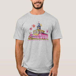 Hartriegel-Festival 2016 im Stadtzentrum gelegenes T-Shirt