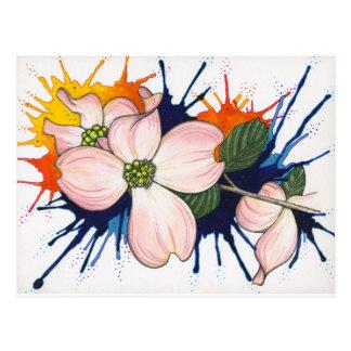 Hartriegel Postkarte