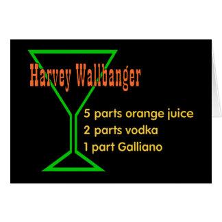 Harvey Wallbangers Karte