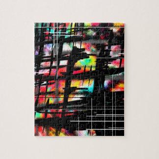 Hasch-Umbau Kunst durch AOM Entwurf Puzzle
