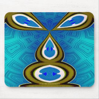Häschen-Blau Mousepad