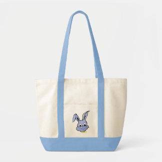 Häschen-blaue Tasche
