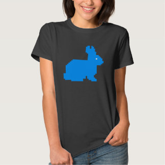 Häschen-Damen-Shirt des Pixel-8bit Shirt