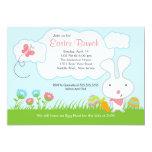 Häschen-Ei-Jagd-Osternbrunch-Party Einladung 12,7 X 17,8 Cm Einladungskarte