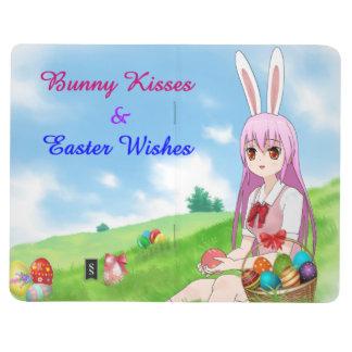 Häschen-Küsse u. Ostern wünscht (kundengerecht) Taschennotizbuch