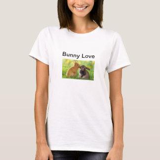 Häschen-Liebe küsst Ostern-T - Shirt