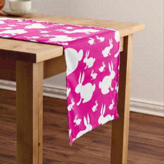 Häschen-Muster-Tabellen-Läufer Kurzer Tischläufer