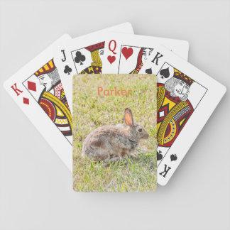 Häschen - Ostern - wild lebende Tiere - Tier Spielkarten