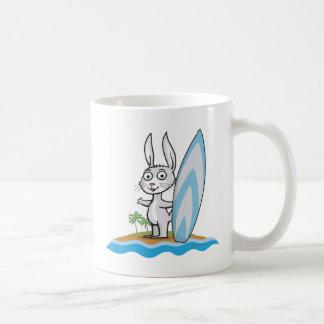 Häschen-Surfer Kaffeetasse