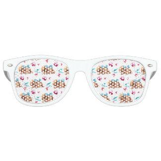 Häschen-Süsse-Polkapunkt-Bogenmuster Partybrille
