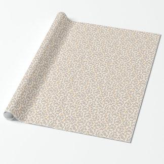 Häschen und Karotten-Muster Einpackpapier