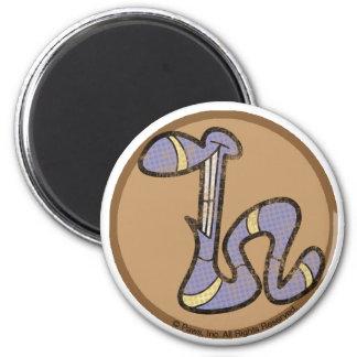 Haselnuss der Wurm-Magnet Magnets