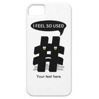 Hashtag I Gefühl so verwendetes lustiges iPhone 5 Hülle