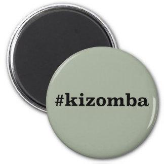 Hashtag Kizomba Runder Magnet 5,1 Cm