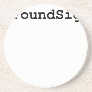 Hashtag Pfund-Zeichen Untersetzer