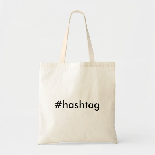 #hashtag Tragetasche