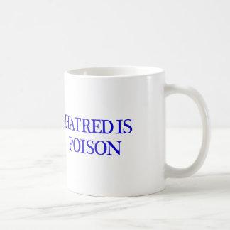 Hass ist Giftweiß-Tasse Kaffeetasse