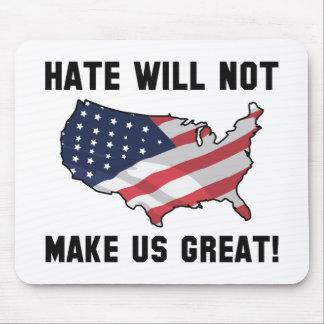 Hass macht US nicht groß Mousepad