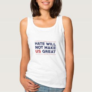 Hass macht US nicht groß Tank Top