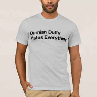 Hasse Damian Duffy alles Podcast T-Shirt