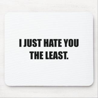 Hassen Sie Sie einfach das am wenigsten lustige Mousepad