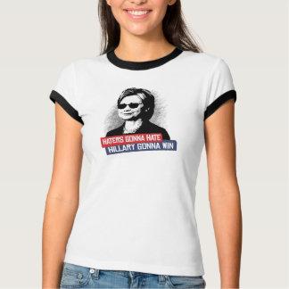 Hasser, die gehen, Hillary zu hassen geht zu T-Shirt