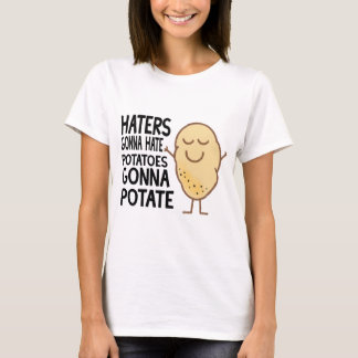 Hasser, die gehen zu hassen T-Shirt