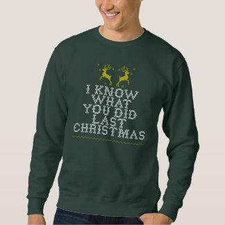 Hässliche letzte WeihnachtsSweatshirts Sweatshirt