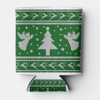 Hässliche Weihnachtsstrickjacke Dosenkühler