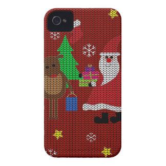 Hässliche Weihnachtsstrickjacke iPhone 4 Cover