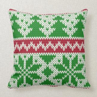 Hässliche Weihnachtsstrickjacke Kissen