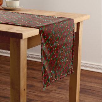 Hässliche Weihnachtsstrickjacke Kurzer Tischläufer