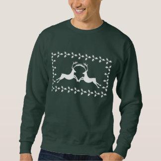 Hässliche Weihnachtsstrickjacke/-Sweatshirt Sweatshirt