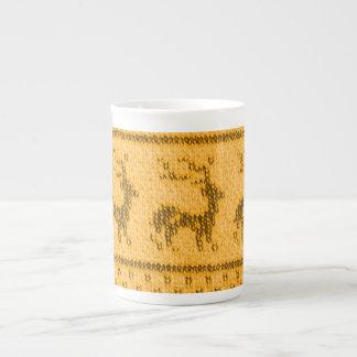 Hässliche Weihnachtsstrickjacke-Tasse Porzellantasse