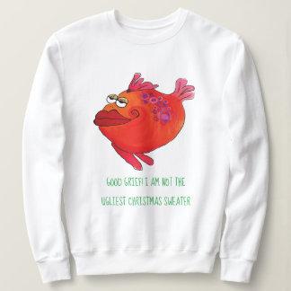 Hässliche Weihnachtsstrickjacke-wunderliche Sweatshirt