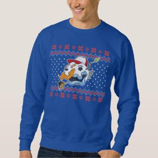 Hässlicher Schneemann-hässliche Sweatshirt